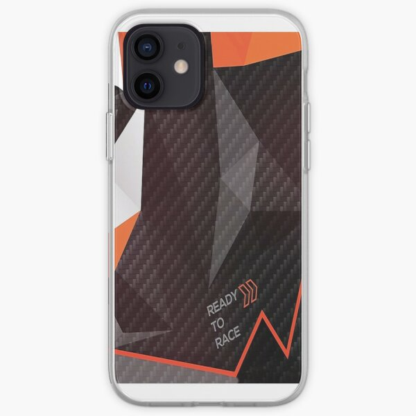 Ready to Race fractals iPhone Soft Case