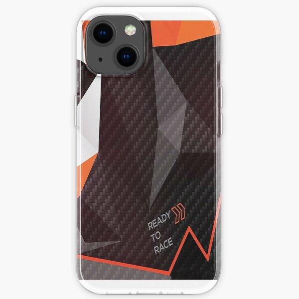 Fractales prêtes à courir Coque souple iPhone