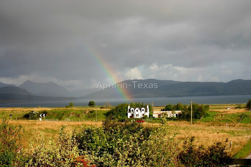 Somewhere over the rainbow...at The Isle of Skye by April-in-Texas