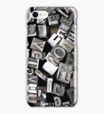 Washington DC: Typeset 1 iPhone Case/Skin