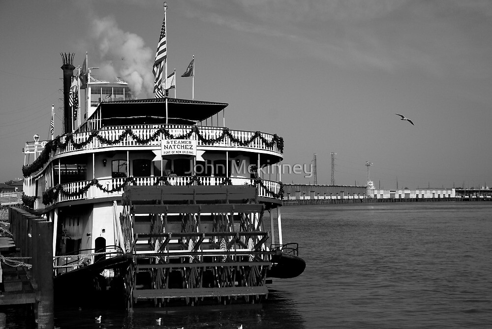 Natchez Steamboat-- NOLA by John Mckinney