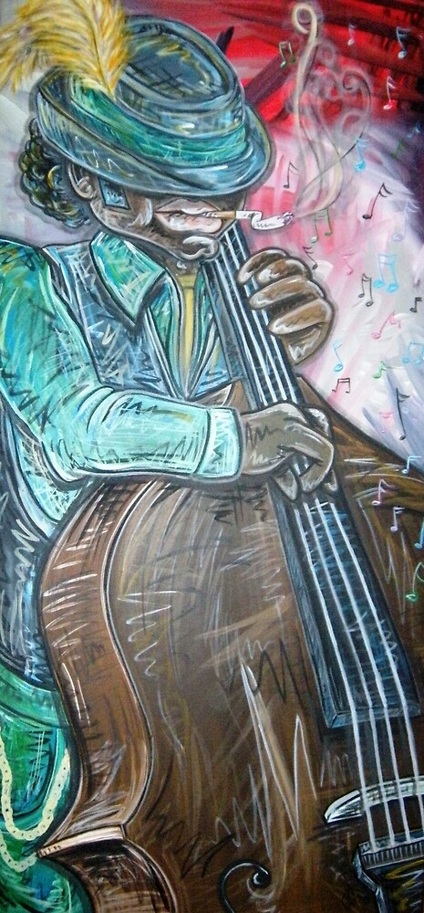Jazz-Bass by Veronica Williams