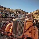 Jerome Arizona Old Trucks by Edward Fielding
