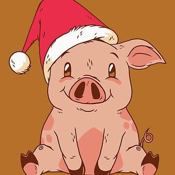 Christmas Piggy by Matucho