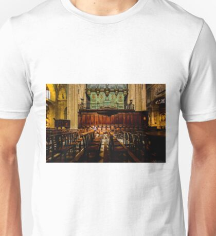Looking in vain for any news about the existence of God T-Shirt
