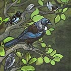 Tui Bird And Friends by Patricia Howitt