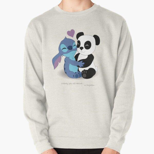 Stitch & Panda Pullover Sweatshirt