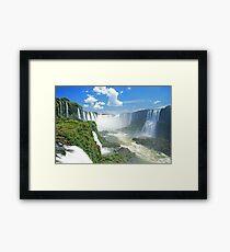 Iguassu Falls - Brazil Framed Print