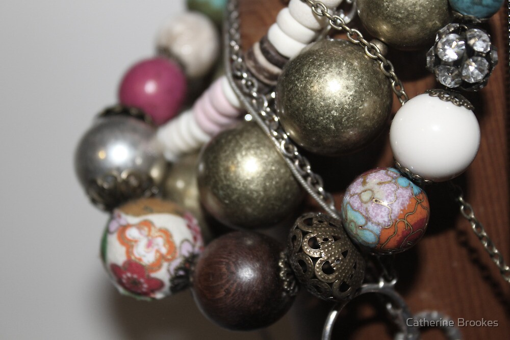 Patterned Beads by Catherine Brookes