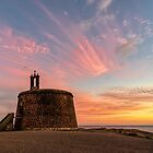 Castillo de las Coloradas at sunset by SteveEveritt