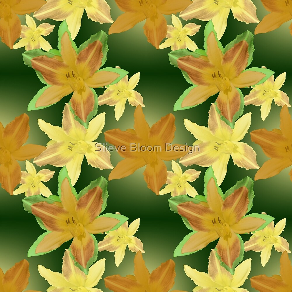 Lily in Citrus Hues by Slieve Bloom Design
