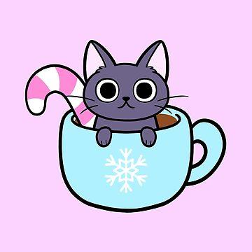 Winter Cocoa Cat by nikury
