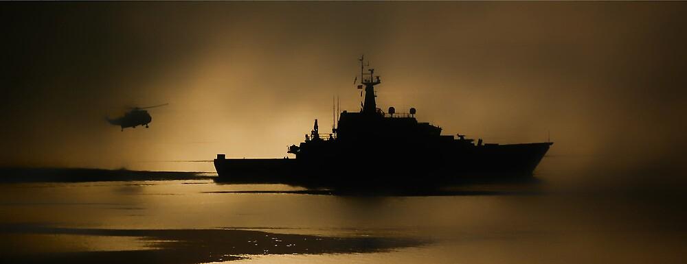 Navy Patrol by Gary Thompson
