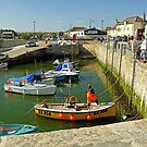 Porthleven Harbour and Slipway - #1 by Rod Johnson