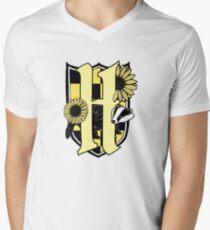 Honey Badger Crest (Color Icon Only) Men's V-Neck T-Shirt