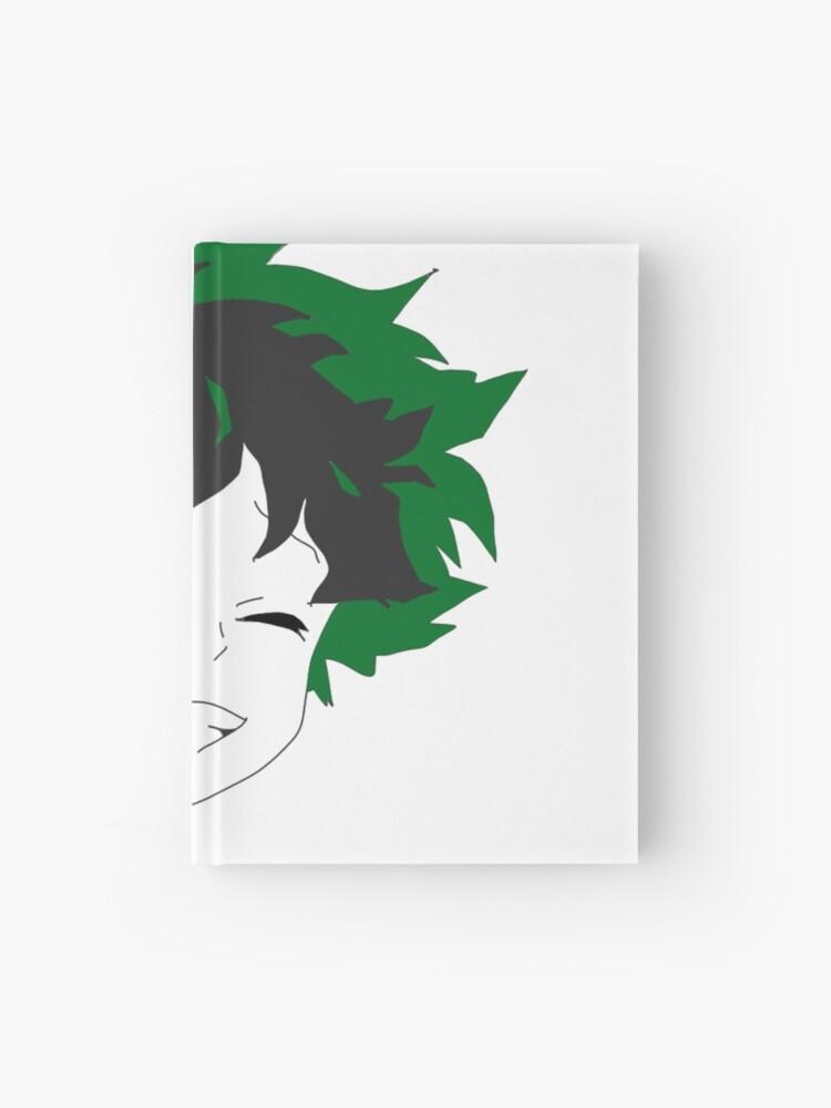 Izuku Midoriya Deku Face Design Hardcover Journal