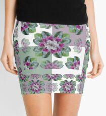 Cyclamen Symmetry Mini Skirt