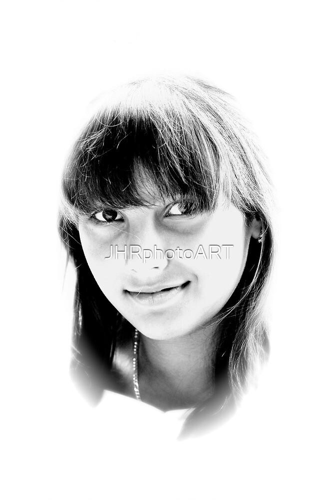 High Key Portrait by JHRphotoART