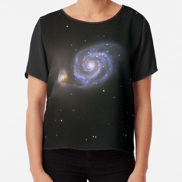 whirlpool galaxy Chiffon Top