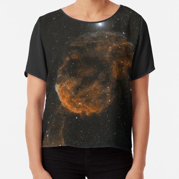jelly fish Nebula Chiffon Top