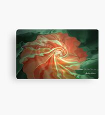 like a flower- Abstract  Art + Products Design  Canvas Print