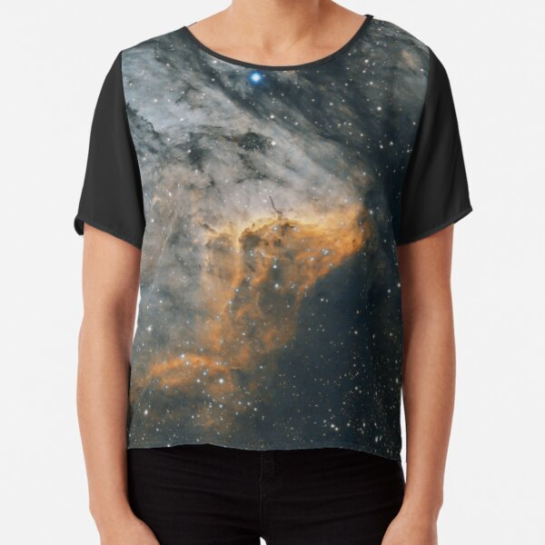 pelican nebula Chiffon Top