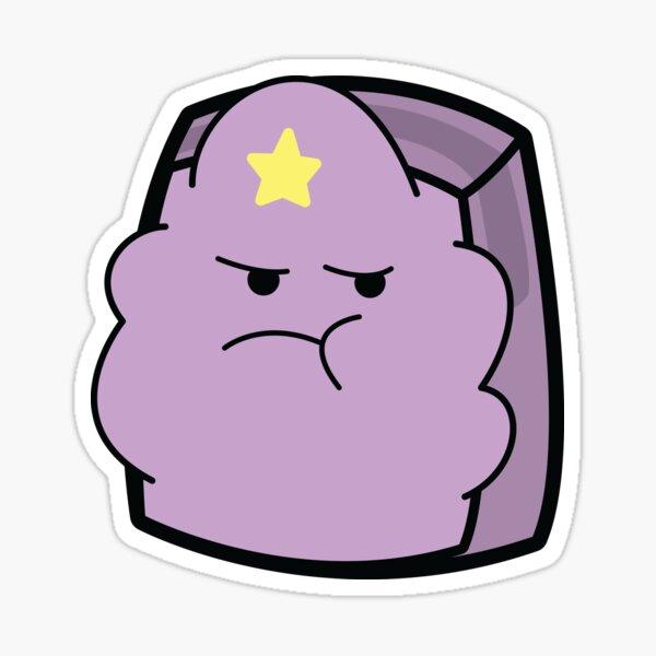 Lumpy Space Princess - Adventure Time Boxheadz Sticker