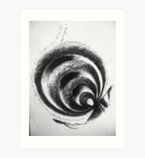 ABSTRACTLY CONCRET Art Print