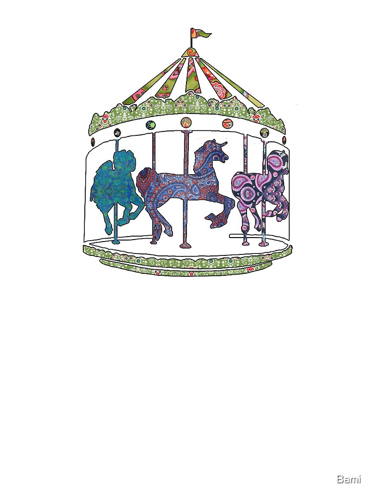 Patchwork Carousel by Bami