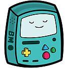 BMO - Adventure Time Boxheadz by Justin Fidencio