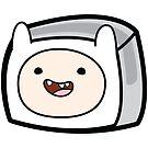 Finn the Human - Adventure Time Boxheadz by Justin Fidencio
