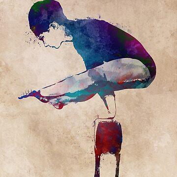 Gymnastics #gymnastics #sport by JBJart