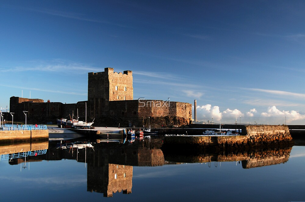 Carrickfergus Castle by Smaxi