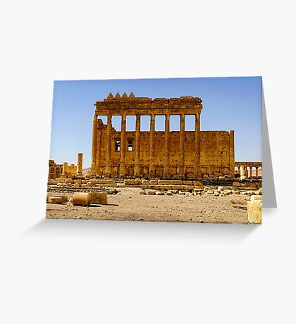 Palmyra - Before The Desecration  Greeting Card