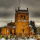 Harlestone Church In The Snow by SimplyScene