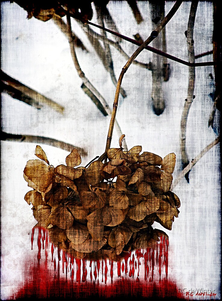Bleedout in the Snow by RC deWinter