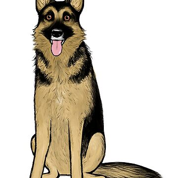 German Shepherd Dog by ShortCoffee