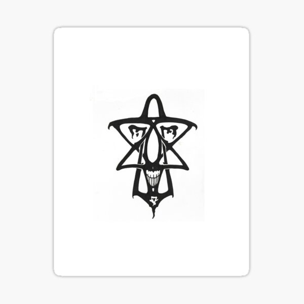 Pentagram Design Sticker