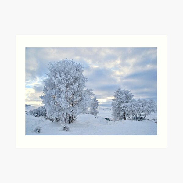 Winter Wonderland, Glencoe Art Print