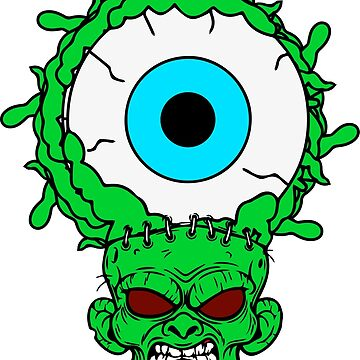 Zombie Third Eye Man by SDParty