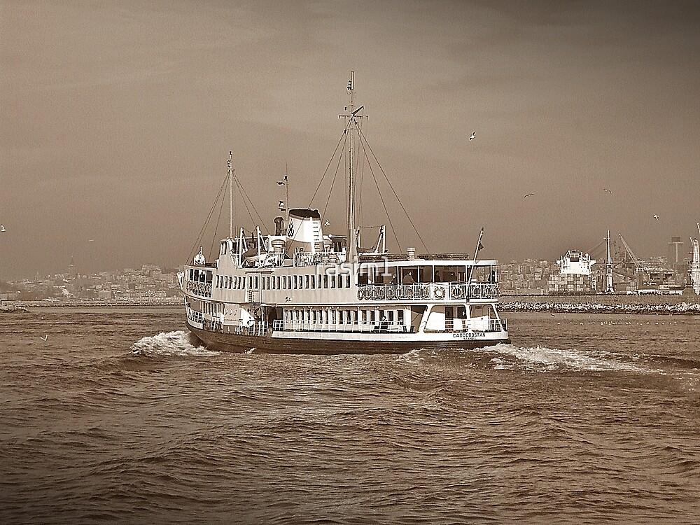 The ferry in Istanbul by rasim1