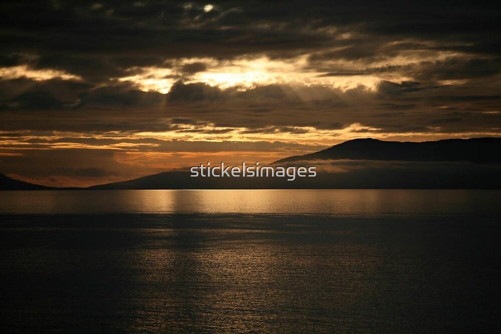 orange sunrise by stickelsimages
