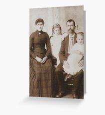 1888 Greeting Card