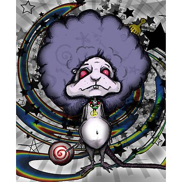 Loopy Afro Mouse by MsMiscellaneous
