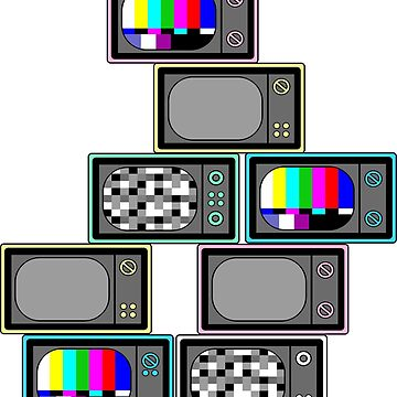 retro tvs by B0red