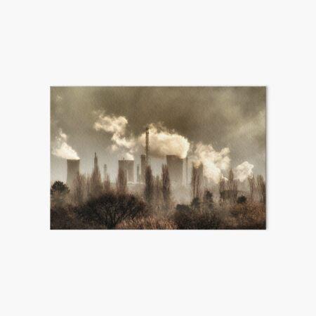 Smoggy Teesside Art Board Print