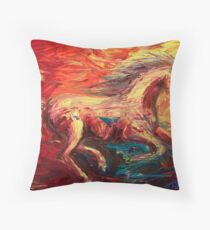 The Movement Throw Pillow