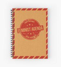 Feminist Agenda Spiral Notebook
