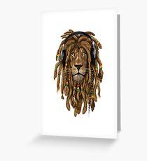 Marley Lion T-Shirt & Zubehör Grußkarte