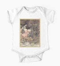 Comus Illustrated by Arthur Rackham 1921 0087 Maidens at Water's Edge One Piece - Short Sleeve